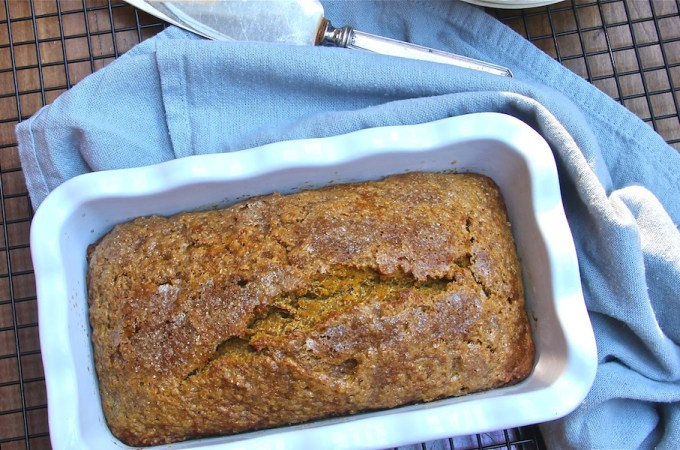 Boozy Pumpkin Bread