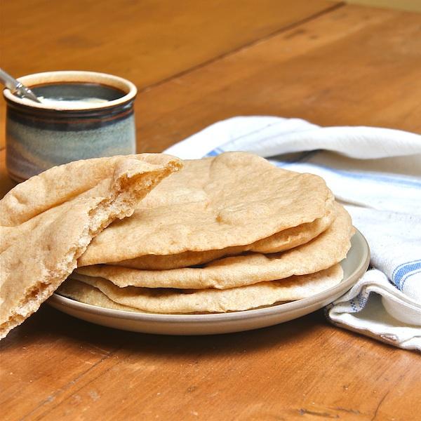 Whole Wheat Pita Bread 600 : The Wimpy Vegetarian