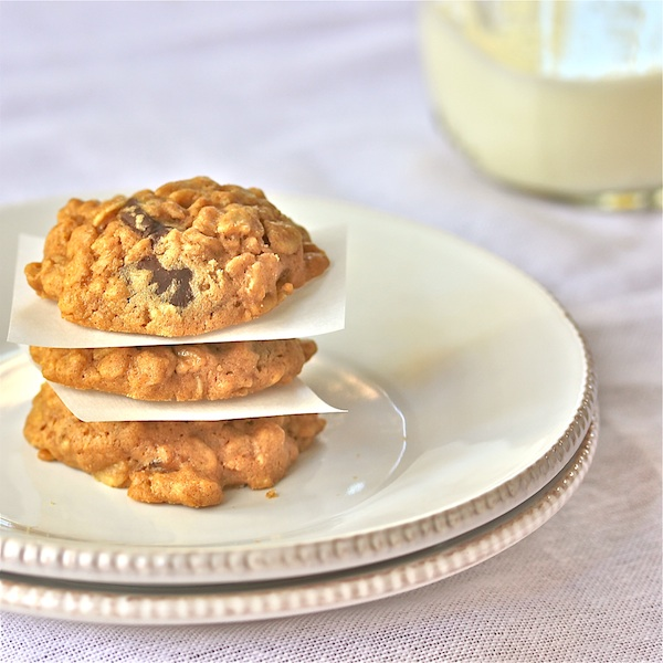 Peanut Butter-Oatmeal Cookies With Coconut Oil : The Wimpy Vegetarian