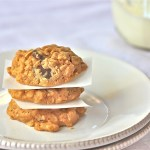 Peanut Butter Oatmeal Cookies With Coconut Oil - slider