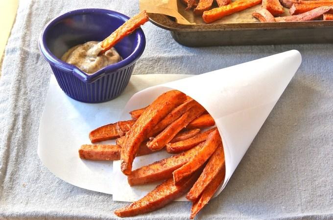 Spicy Sweet Potato 'Fries'