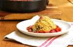 make ahead, vegetarian main dish, swiss chard and quinoa croquettes
