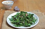 miso-kale sauté with dates and millet, Nature's Path, easy entertaining, easy weeknight side dish, Ask Miss A