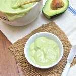 avocado cream, sauce, sandwich spread, pasta sauce
