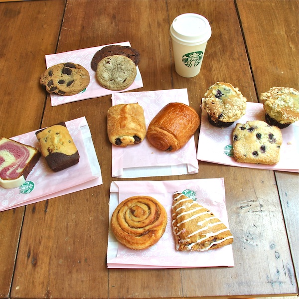Starbucks treats
