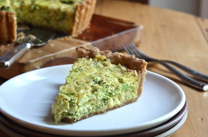 Broccoli Cheddar Casserole with Quinoa