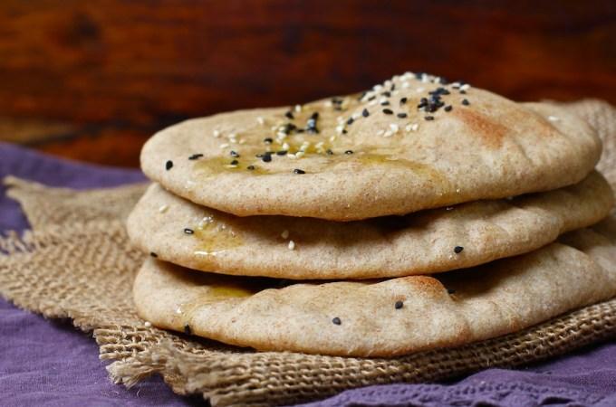 Turkish Bread with Nigella Seeds