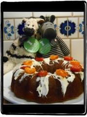 ZeBot Tomato Cake Close-Up