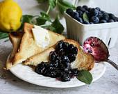 sunchowder blueberry jam