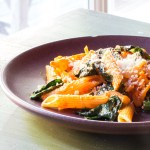 Red pepper penne