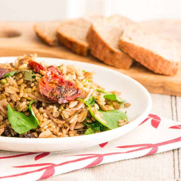 Mujadara rice and lentils