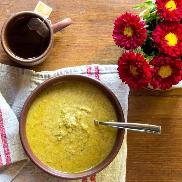 Vegan broccoli soup_600