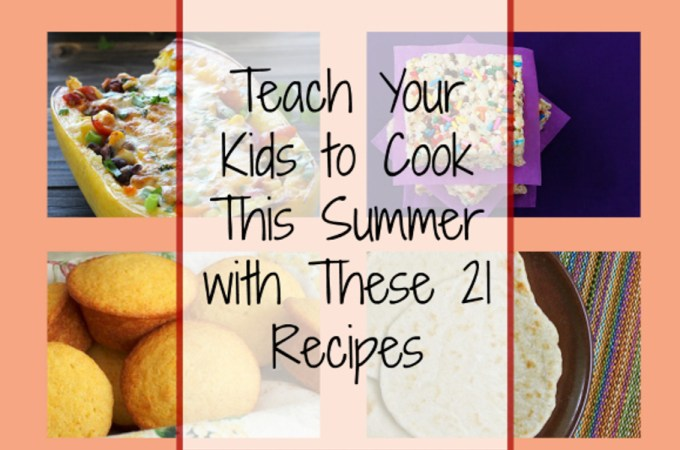 Summertime Cooking with Kids!