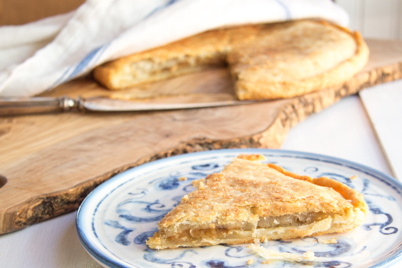 double crusted apple galette