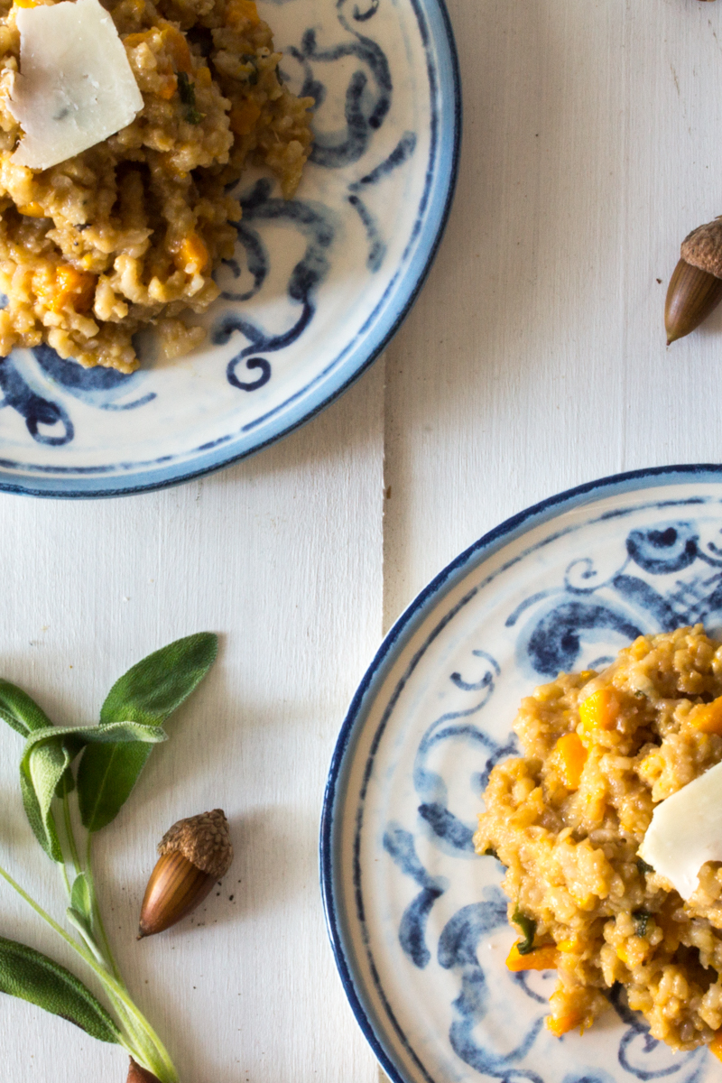 Fig, Ginger and Butternut Squash Risotto