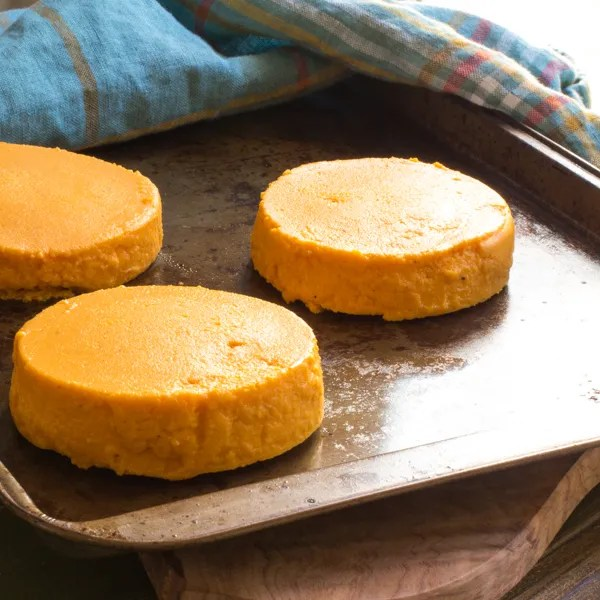Lightened Maple Carrot Flan