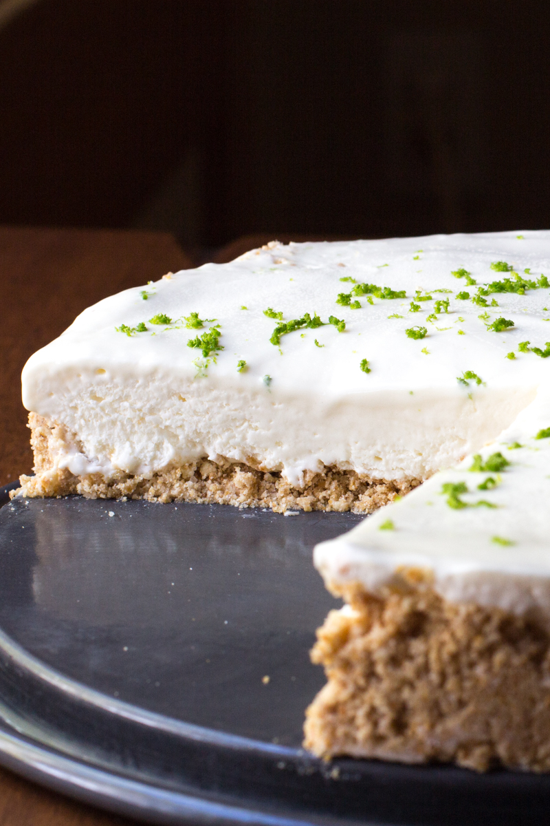 No-Bake Pie: Margarita Pie with a Pretzel Crust. Great frozen dessert to serve for Cinco de Mayo, and tuck away the leftovers into the freezer to have on hand all summer.