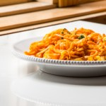 Spiralized Sweet Potatoes and Apples