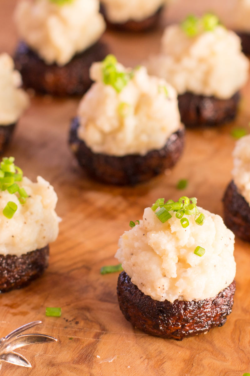 Miso Mashed Idaho® Potato Stuffed Mushrooms | The Wimpy ...