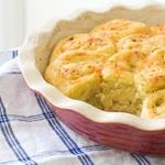 Garlic and Parmesan Rolls with Einkorn Flour