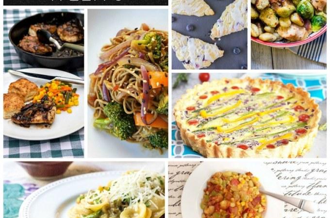 Week #3: Dinner Menu Plan for Vegetarians and Carnivores Eating Together