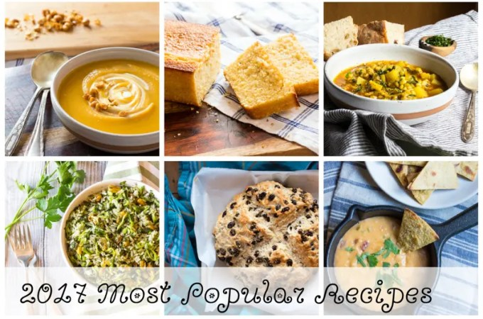 My Twelve Most Popular Recipes of 2017