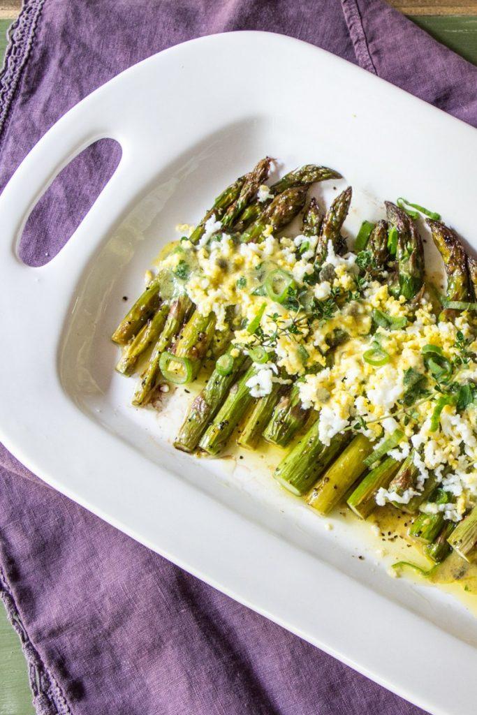 asparagus gribiche