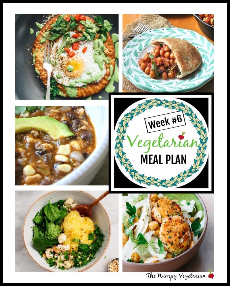 Weekly Vegetarian Meal Plan + Tips for Omnivores // Week 6