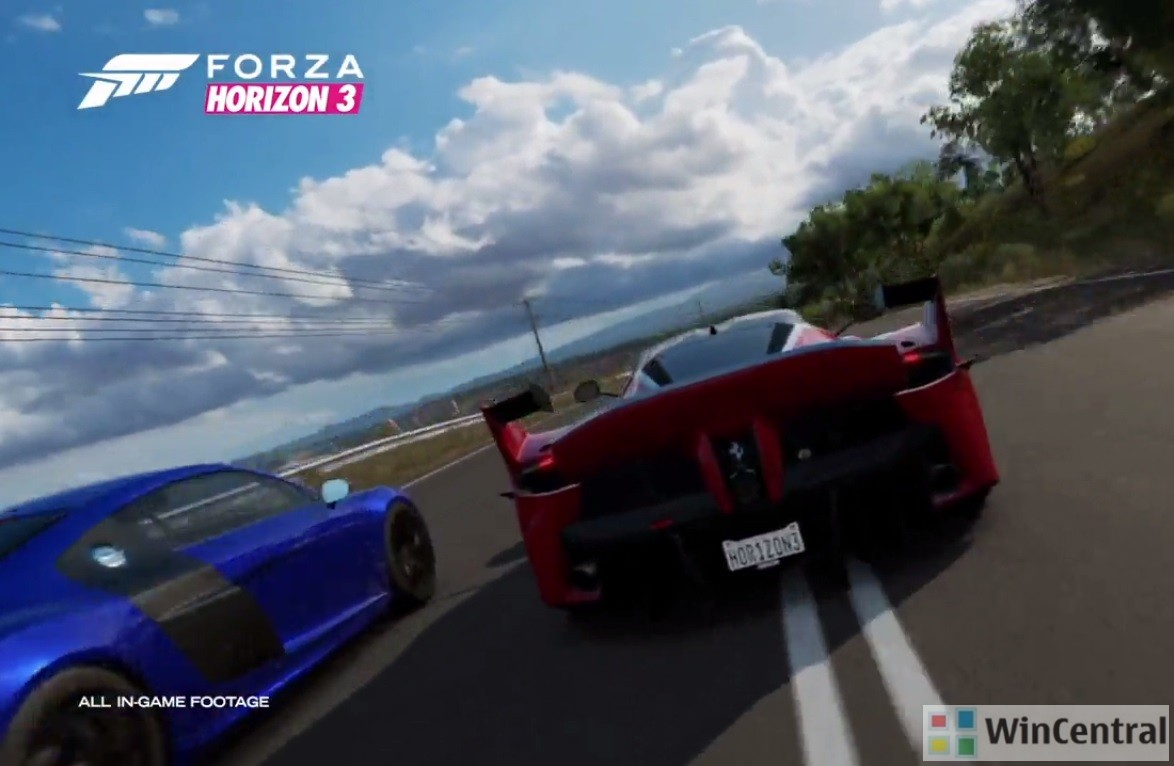 forza horizon 3 picks major critical update on windows 10 pc. Black Bedroom Furniture Sets. Home Design Ideas
