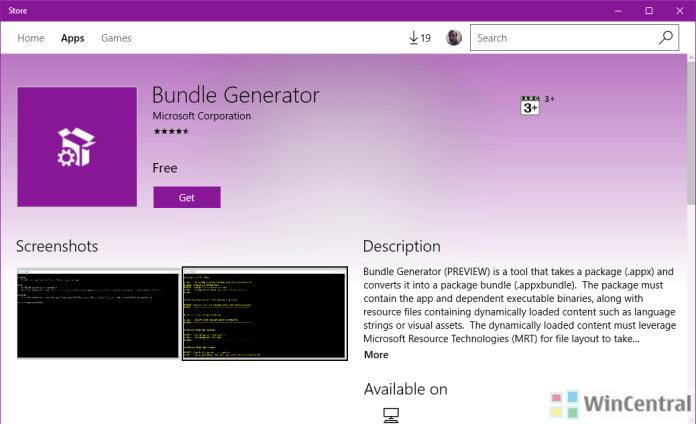 bundle generator