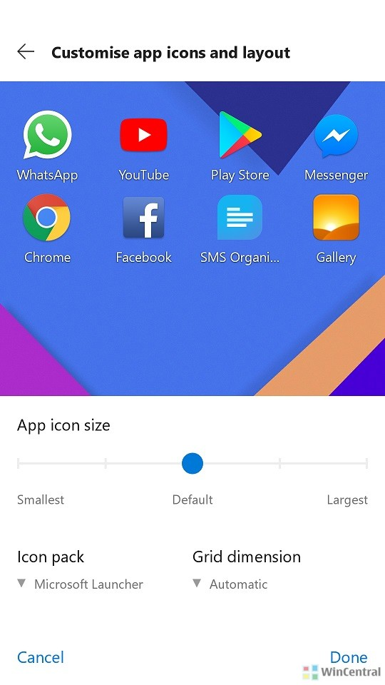 Microsoft Launcher App Icon and Icon Packs