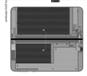 Surface Phone OLED display 3D sketch 2