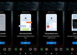 Microsoft Launcher Beta v6 update