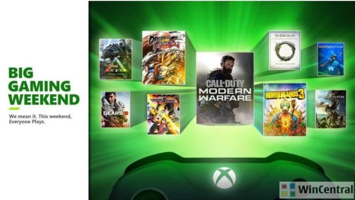 Big Gaming Weekend - Xbox