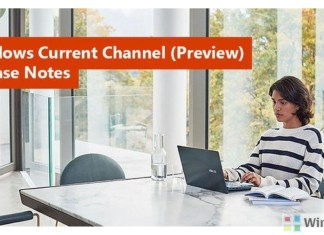 Office for Windows Current Channel
