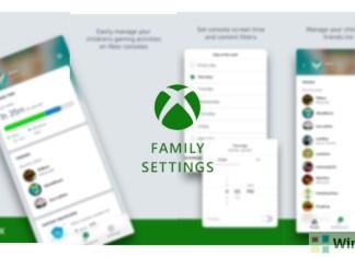 New Xbox Family Settings app