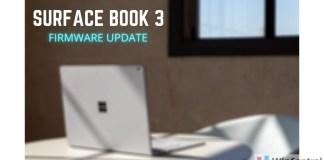 Surface Book 3 Firmware Update