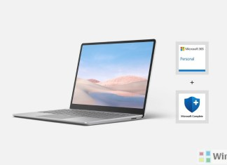 Surface Laptop Go essentials bundle
