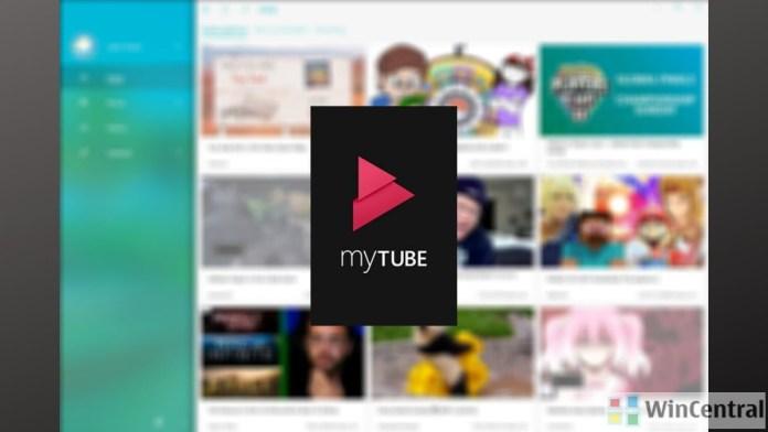 myTube Windows 10