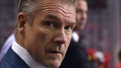 Calgary Flames interim head coach Geoff Ward