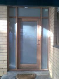 Timber Front Doors  THE WINDOW MAN