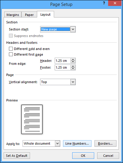Add Line Numbers In Word : numbers, Numbers, Document