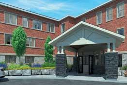 The Windsor Retirement Residence, Kingston Exterior