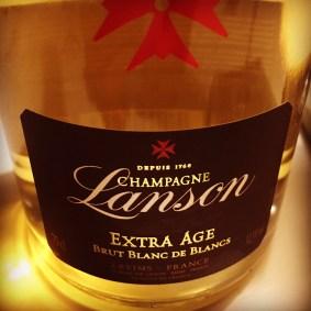 6. Lanson Extra Age Brut Blanc de Blancs