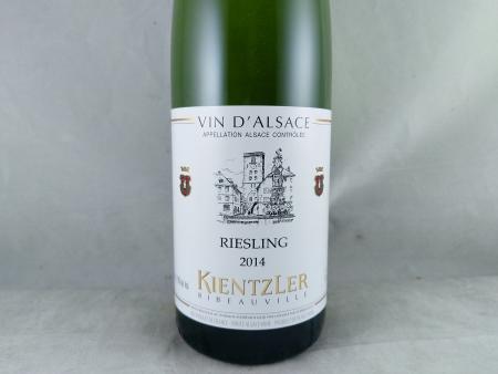 Andre Kientzler Alsace Riesling 2014