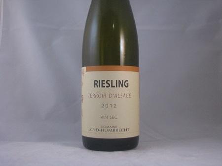 Domaine Zind Humbrecht Terriur d'Alsace Riesling 2012
