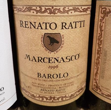 Renato Ratti Barolo DOCG Marcenasco 1996