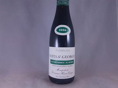 Domaine Henri Gouges Nuits-St-Georges Clos de Porrets St Georges Premier Cru Monopole 2006 375ml