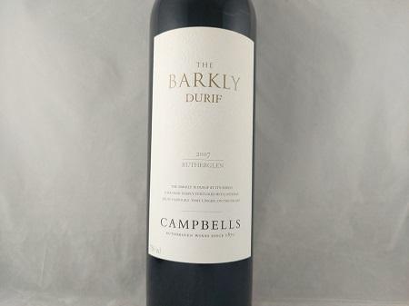 Campbells The Barkly Durif Rutherglen 2007