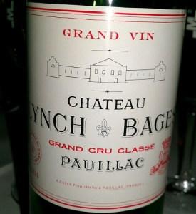 Chateau Lynch Bages Pauillac 5th Growth 2010